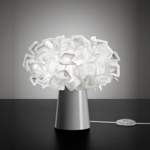 Lampa nocna Clizia Table Lamp White